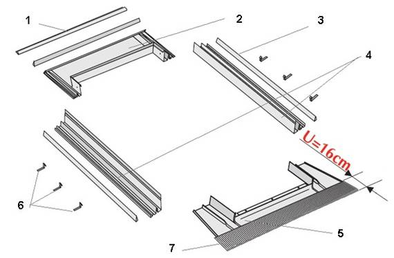 Innovativ Dachfenster aus Kunststoff - polnischefenster24.de JR59