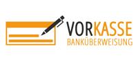 Vorkasse Bankuberweisung