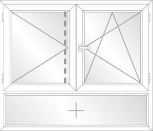 DL / DKR mit Unterlicht (F) und Stulp