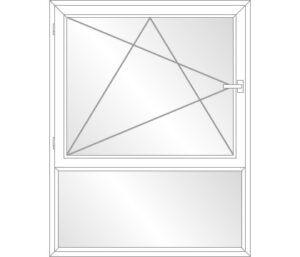 Dreh-Kipp-Links mit Unterlicht (F)