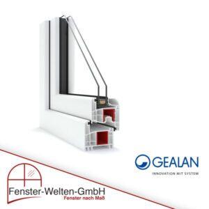 Kunststofffenster Gealan S8000 (74mm)