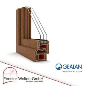 Kunststofffenster Gealan Futura (83mm)