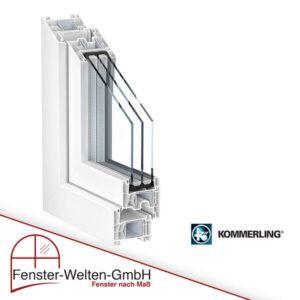 Kunststofffenster Kömmerling 76 AD (76mm)