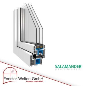 Kunststofffenster Salamander bluEvolution 82 MD (82mm)