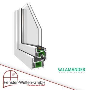 Kunststofffenster Salamander 76 AD (76mm)